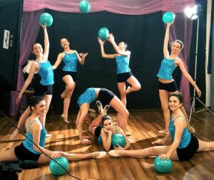 Ballet drem school_Spettacolo di danza_palloni