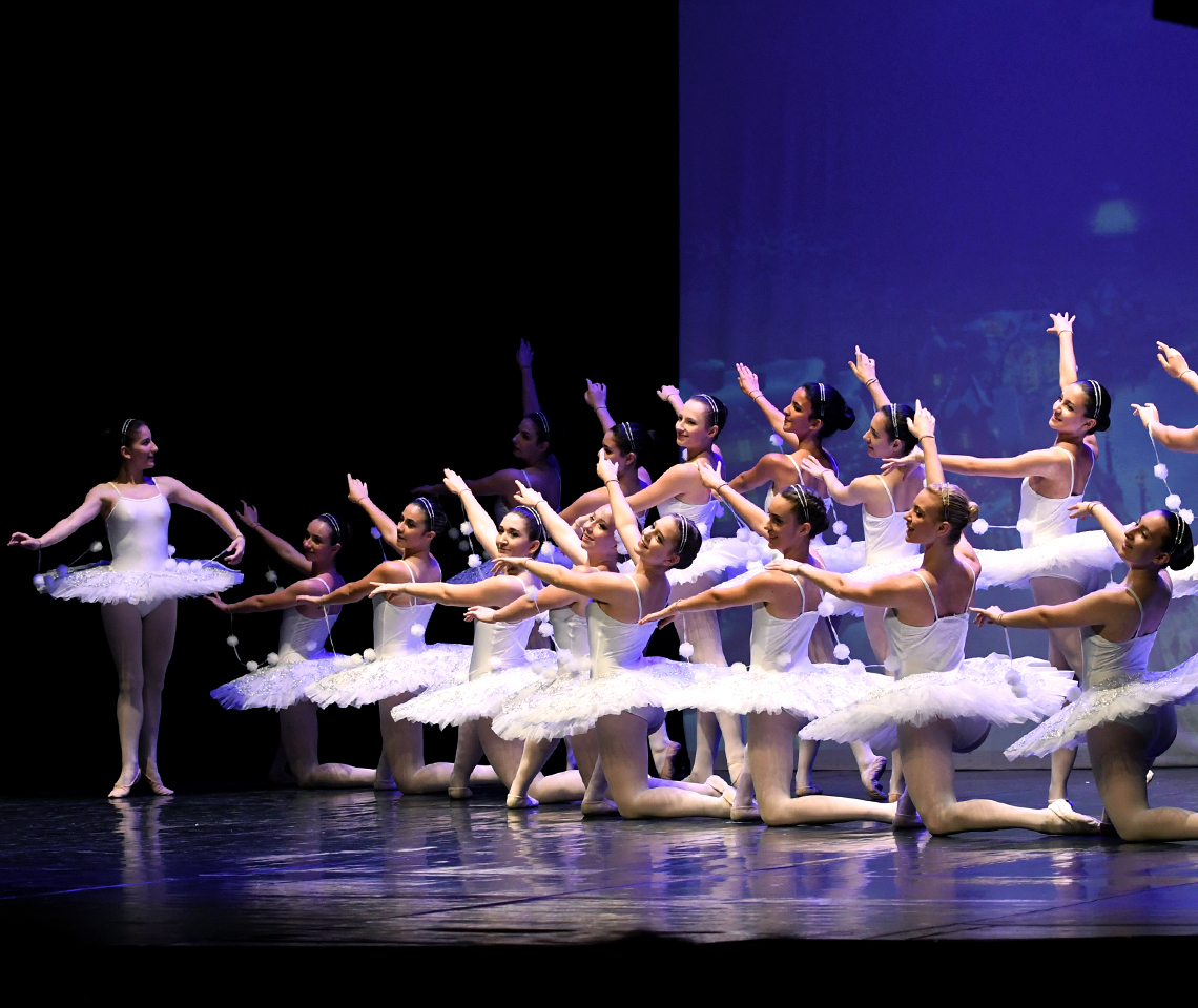 Ballet drem school_Spettacolo di danza_fiocchi di neve