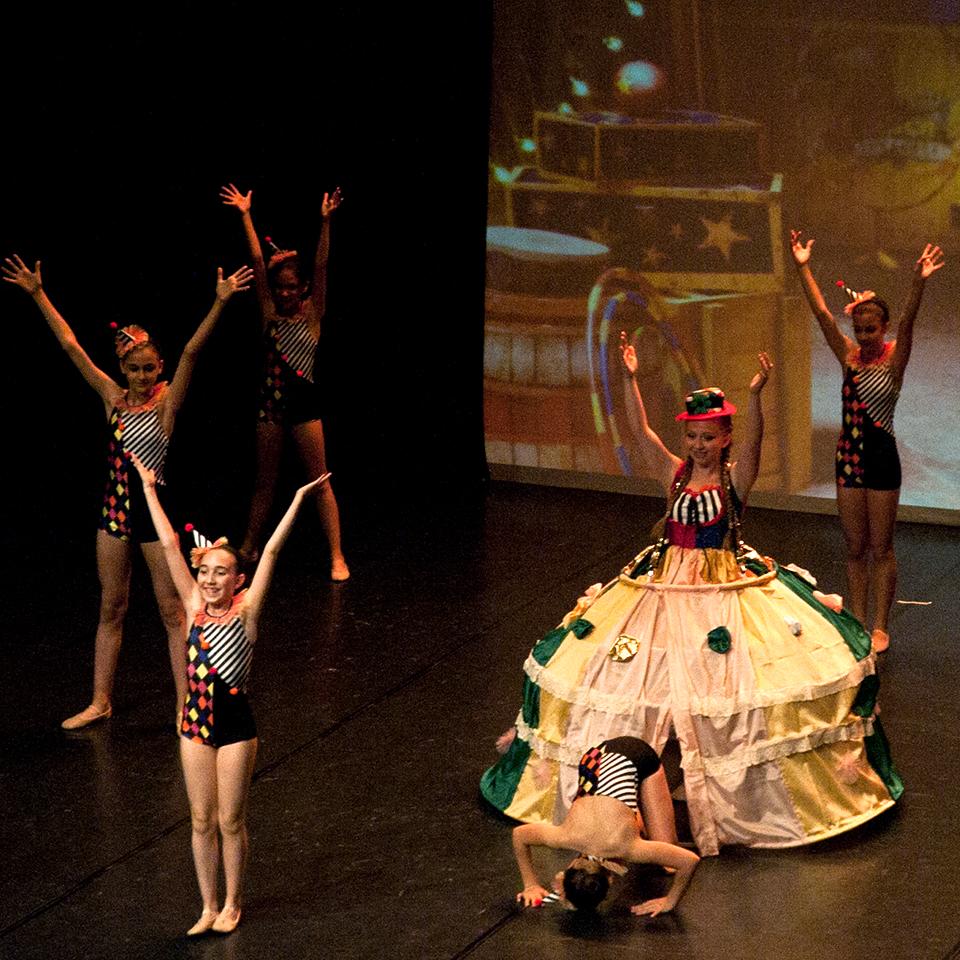 Ballet drem school_Spettacolo di danza_clown